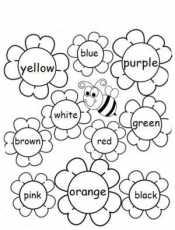 Цвета на английскои