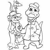 Гена и Шапокляк