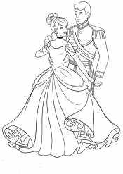 Принц и Золушка танцуют