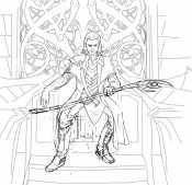 Локи на троне