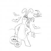Катя и Мим Мим на Хеллоуин