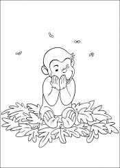 Джордж с листьями