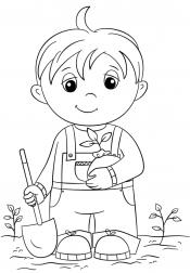 Мальчик с горшком