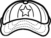 Картинка кепка со звездой