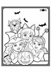 Даша на Хеллоуин