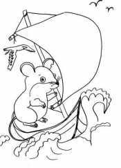 Мышонок Пик на корабле