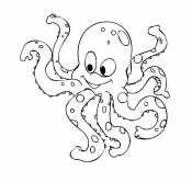 Забавный осьминог