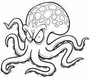 Грозный осьминог