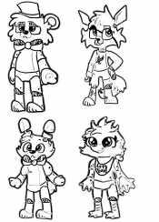 Маленькие аниматроники