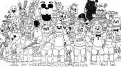 Рисунок аниматроники