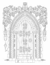 Рисунок Дверь