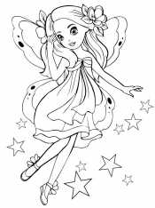 Фея со звездами