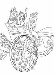 Карета с принцессами