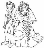Картинка Жених и невеста