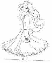Пышная юбка на платье