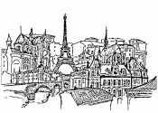 Раскраска Франция