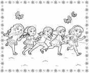 Раскраска Даша и друзья