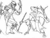 Шреддер и крыса