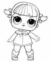 Кукла Лол в сапогах
