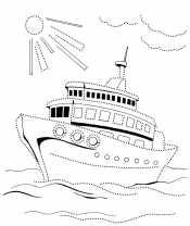 Корабль для мальчиков