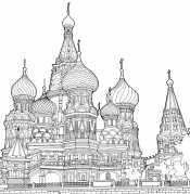 Рисунок Москва
