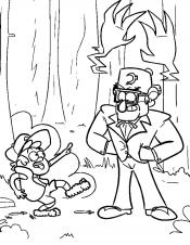 Диппер с дядюшкой