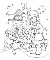 Новогодняя сказка Снегурочка