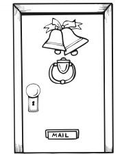 Дверь и колокольчики