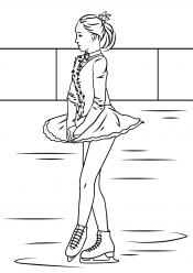 Фигуристка для девочек