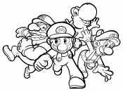 Герои игры Марио