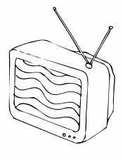 Волнистый телевизор