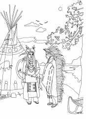 Картинка индейцы