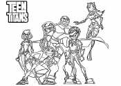 Герои Юных Титанов