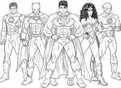Супермен и его команда