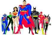 Раскраска Лига Справедливости