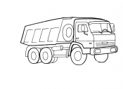 Автомобиль Камаз
