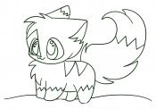 Кавайная кошка