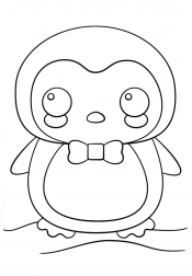 Кавайный пингвин