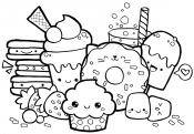 Кавайные пирожные