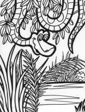 Рисунок Джунгли