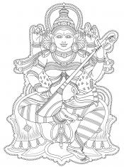 Рисунок Индия