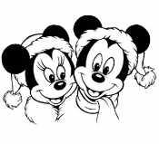 Минни и Микки Маус