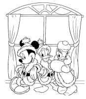 Микки, Дональд и Дейзи