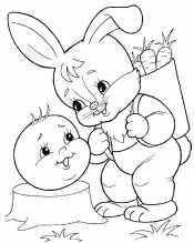 Колобок с зайцем