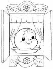 Колобок на окне