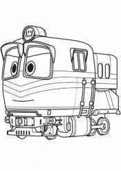 Роботы поезда Альф