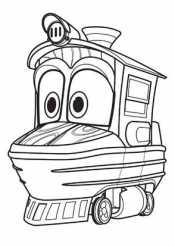 Роботы поезда Дюк