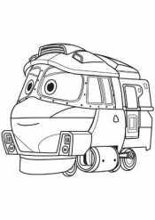 Роботы поезда Кей