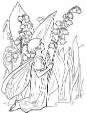 Ландышы и фея