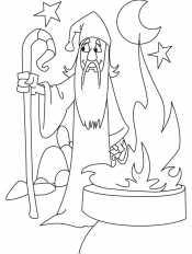 Волшебник с посохом